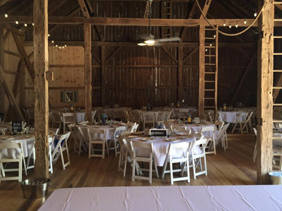 Perfect country wedding and reception